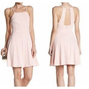19 Cooper Mini Dress M Pink Fit Flare Party NEW
